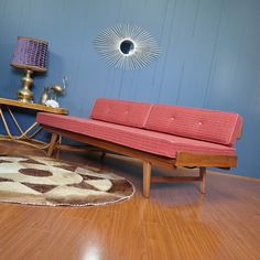 1950s Mid Century Coachwood Daybed :: 2 Available - Gold Label Vintage