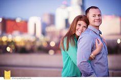 KC Photographer: Downtown KC Engagement