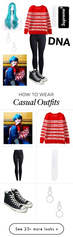 """""""DNA suga"""" by btsgirl1234 on Polyvore featuring Off-White, Converse and Isabel Marant"""