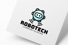 Robot Logo Design (3) by pne-design on @creativemarket