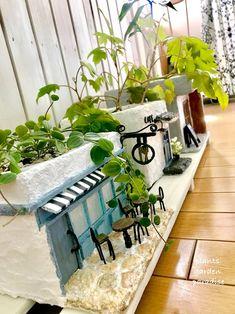 Hanging Patio Lights, Diy Crafts Slime, Cute Diy Room Decor, Pottery Houses, Garden Planning, Garden Furniture, Garden Pots, Container Gardening, Indoor Plants