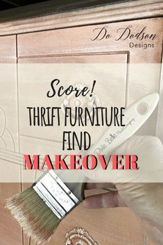 Thrift furniture is my LOVE language! It can can be hard to find the perf… - Home Office Decoration Colorful Furniture, Repurposed Furniture, Pallet Furniture, Furniture Makeover, Cool Furniture, Furniture Design, Antique Furniture, Painted Furniture, Furniture Ideas