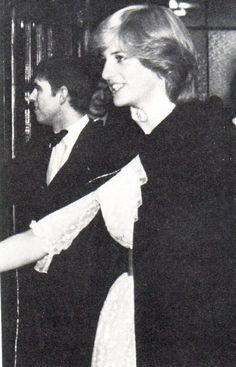 November Princess Diana, Prince Charles and Prince Andrew at the Royal Opera House, Covent Garden Duchess Of York, Duke Of York, Prince Andrew, Prince Philip, Diana Williams, Thing 1, Diane, Lady Diana Spencer, Princess Of Wales
