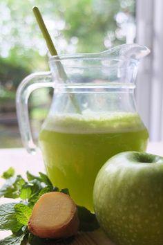 Suco verde, que não é detox!