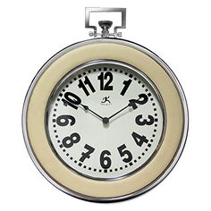 Infinity Instruments Boardwalk 19 in Wall Clock -- Click on the image for additional details.