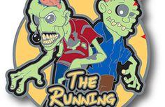 The Running Dead Virtual (Glow in the dark) Run #virtualrace #running