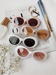 Summer Sunglasses, Pink Sunglasses, Cat Eye Sunglasses, Sunnies, Sunglasses Women, Sunglasses Accessories, Cute Glasses, Glasses Frames, Lunette Style