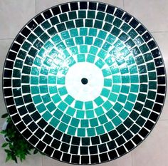 Mosaic Diy, Mosaic Tiles, Mosaic Projects, Projects To Try, Bowl Sink, Pebble Stone, Plates And Bowls, Painted Rocks, Beach Mat