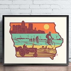 """Support @bozzprints efforts to get his """"Layers of Iowa"""" design on new @iowadot license plate. Message https://www.facebook.com/iowadot/?utm_content=buffer5308f&utm_medium=social&utm_source=pinterest.com&utm_campaign=buffer or Tweet them @iowadot Would love all the help he can get! #iowa"""
