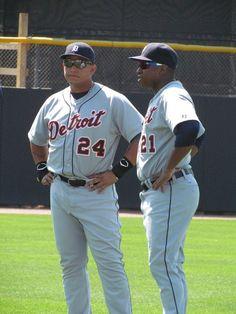 Detroit Tigers, Miguel Cabrerra & Delmon Young