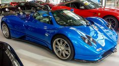 Pagani Zonda S Roadster [3264x1836] (OC) RePin if you liked this!