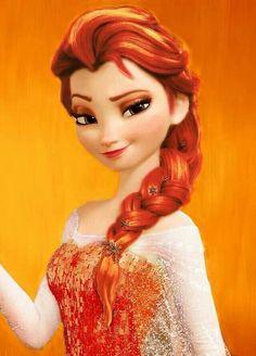 Elsa de Feu et pas de Neige!!