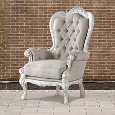 sillón vintage Georgia Wingback Chair, Armchair, Couch, Sofa, Nail Room, Green Carpet, Vintage Room, Living Room Carpet, My Room