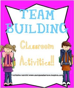 Team Building Beginning of the Year Ideas. Repinned by SOS Inc. Resources @sostherapy.