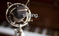 I can sing... but kinda scared what other people might think..