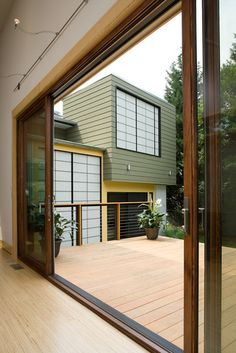 Contemporary Spaces Sliding Glass Doors Design, Pictures, Remodel, Decor and Ideas - page 14