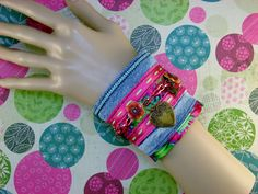 SHABBY JEAN-Cuff-Anklet-Steampunk-Shabby by TheShabbyJean on Etsy