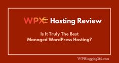 Checkout the WPX Hosting review, the best WPEngine alternative of current market. But is it the best manged WordPress hosting in 2018? Indepth analysis with a special WPX Hosting coupon. Host your WordPress site on a fast and secured managed dedicated server with 50% discount.