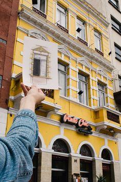 Janelas de SP: arquiteta cria desenhos à mão livre para retratar janelas icônicas e reconectar as pessoas à cidade - Follow the Colours