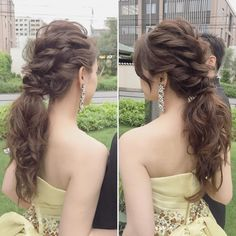 pretty hairstyles for girls Updo Party Hairstyles, Bride Hairstyles, Elegant Hairstyles, Cool Hairstyles, Wedding Ponytail, Hairdo Wedding, Hairdos For Older Women, Mother Of The Bride Hair, Hair Arrange