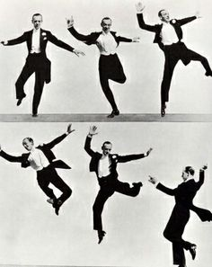 Fred Astaire steps