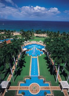 The Grand Wailea in Maui...one of the most beautiful places I have ever been!!
