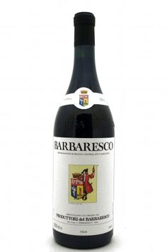 Barbaresco Produttori del Barbaresco 2007 - located near Piedmont in NW Italy, the Barbaresco district includes the three villages of Barbaresco, Neive and Treiso. This delicious full-bodied wine is made from 100% Nebbiolo grapes grown in Barbaresco. It's rich in tannin with a very complex nose.  When fully mature, it also has aromas of violets, white truffles and anise, is long on the palate, and has a smooth finish.  Great with fish, fowl, meats and, of course, Italian pasta dishes!
