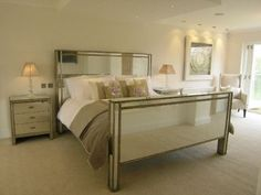 Mirrored Furniture Bedroom