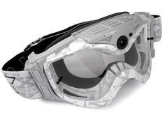 Las gafas con cámara de vídeo All-Sport de Liquid Image, listas para la nieve