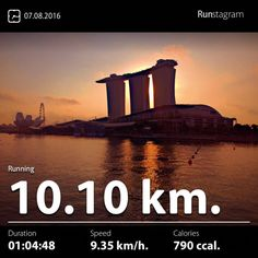 Performance Series City Run.  Recent activity! - 10.10 km Running #health #sport #runstagram  #runstagrammer  #run #running #runkeeper #runnerscommunity #runforabettertomorrow #sgrunners #instarunner  #worlderunners #run #nikerun #nikeplus #loverunning  #justrunlah #ThisIsUs #performanceseries3 #performanceseries2016