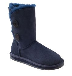 OZWEAR UGG Australia Women Classic Two Bailey Buttons Half Snow Boots AUOB050 >>> Read more reviews of the product by visiting the link on the image.