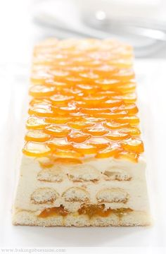 Tiramisù aux kumquats confits et Grand Marnier - Candied Kumquat Tiramisu Kumquat Recipes, Fruit Recipes, Sweet Recipes, Dessert Recipes, Cooking Recipes, Just Desserts, Delicious Desserts, Yummy Food, Baking Desserts