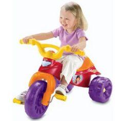 Fisher-Price Dora Tough Trike Ride-On, Multicolor