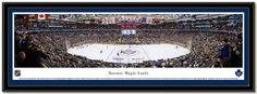 Toronto Maple Leafs Air Canada Centre panoramic photo NHL hockey team licensed framed picture #MapleLeafs  #AirCanadaCenter