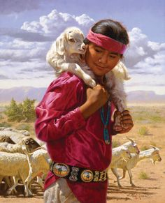 ALFREDO RODRIGUEZ <><> Boy and His Goats