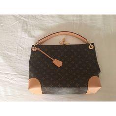 62548536be69 Capped Brilliant Chocolate Leather Shoulder Bag · Louis Vuitton  HandbagsLouis Vuitton MonogramLouis ...