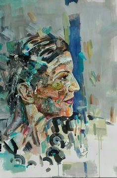 Abstract portrait by tasos bousdoukos