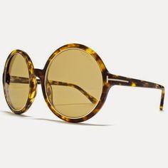 1ab8d11c2953 Tom Ford Women s 0268 Carrie Dark Tortoise Frame Brown Lens Plastic  Sunglasses Oversized Round Sunglasses