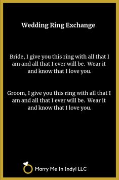 Secular Wedding Ring Exchanges for your non-religious wedding ceremony. Non Religious Wedding Ceremony, Wedding Ceremony Readings, Wedding Ceremony Script, Wedding Ceremonies, Wedding Blessing, Wedding Rituals, On Your Wedding Day, Dream Wedding, Boho Wedding