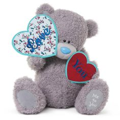 Love You Hearts Me to You Bear Tatty ted