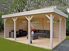 The wooden pergola is a good solution to add beauty to your garden. If you are not ready to spend thousands of dollars for building a cozy pergola then you may devise new strategies of trying out something different so that you can re Outdoor Gazebos, Backyard Gazebo, Garden Gazebo, Backyard Patio Designs, Pergola Patio, Pergola Plans, Backyard Landscaping, Outdoor Structures, Backyard Ideas