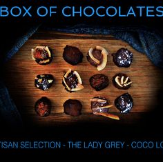 www.ChocolateDances.com Lady Grey, Chocolate Box, Butcher Block Cutting Board, Truffles, Tango, Wanderlust, Bucket, Join, Smile