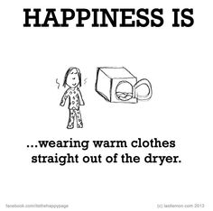 Happiness is... (I understand this now after moving to London...)
