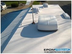 what are roof repair coatings and what can they do do you own an rv - Rv Rubber Roof Repair