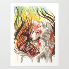 Burn Like the Sun Art Print by Jessie L.P. - $20.80