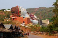 Trésors de Birmanie © Lynda Paquette et Martin Parent *Saison 2013-2014* Reclining Buddha, Indochine, Opera House, Parenting, 2013, Building, Travel, Mongolia, Asia