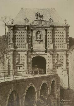 Cambrai, Porte Notre-Dame (mai 1888) | Photographe : Mieusement