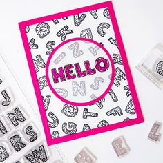 Hellllloooo Friday! We sure are happy to see you! . Are you as happy as Letter Donuts {because letters that look like donuts are pretty happy!} it's Friday? . : @insideoutjeans ⠀⠀⠀⠀⠀⠀⠀⠀⠀⠀⠀⠀ ⠀⠀⠀⠀⠀⠀⠀⠀⠀⠀⠀⠀ ⠀⠀⠀⠀⠀⠀⠀⠀⠀⠀⠀⠀ ⠀⠀⠀⠀⠀⠀⠀⠀⠀⠀⠀⠀ ⠀⠀⠀⠀⠀⠀⠀⠀⠀⠀⠀⠀ #stamps #stamping #sweetstampshop #papercrafts #papercrafting #handmadecards #diycard #cards #cardmaking #cardmakinghobby #clearstamps #clearstamp #sssletterdonut