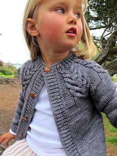 Wide Range of Sizes (Baby to Adult) Ravelry: Antler Cardigan pattern by tincanknits — I will knit this one.