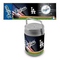 Los Angeles Dodgers LA Portable Tailgating Can Cooler & Seat